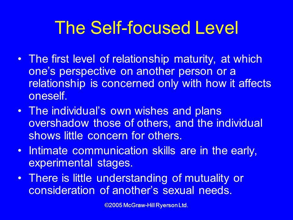 The Self-focused Level
