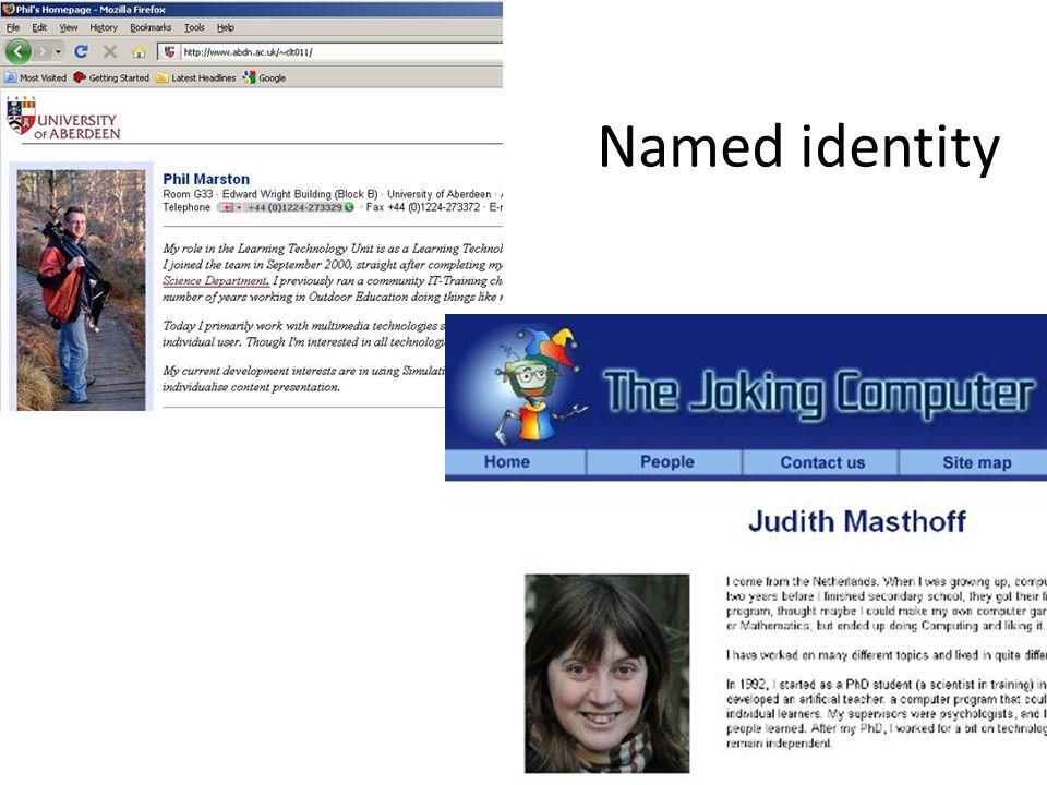 Named identity