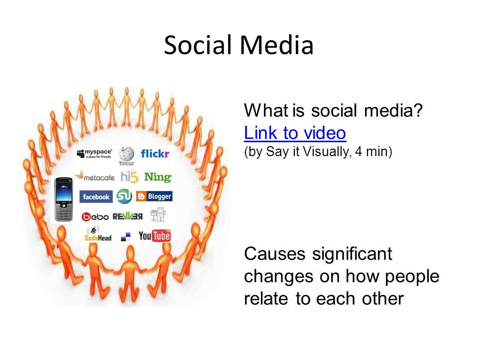 Social Media What is social media