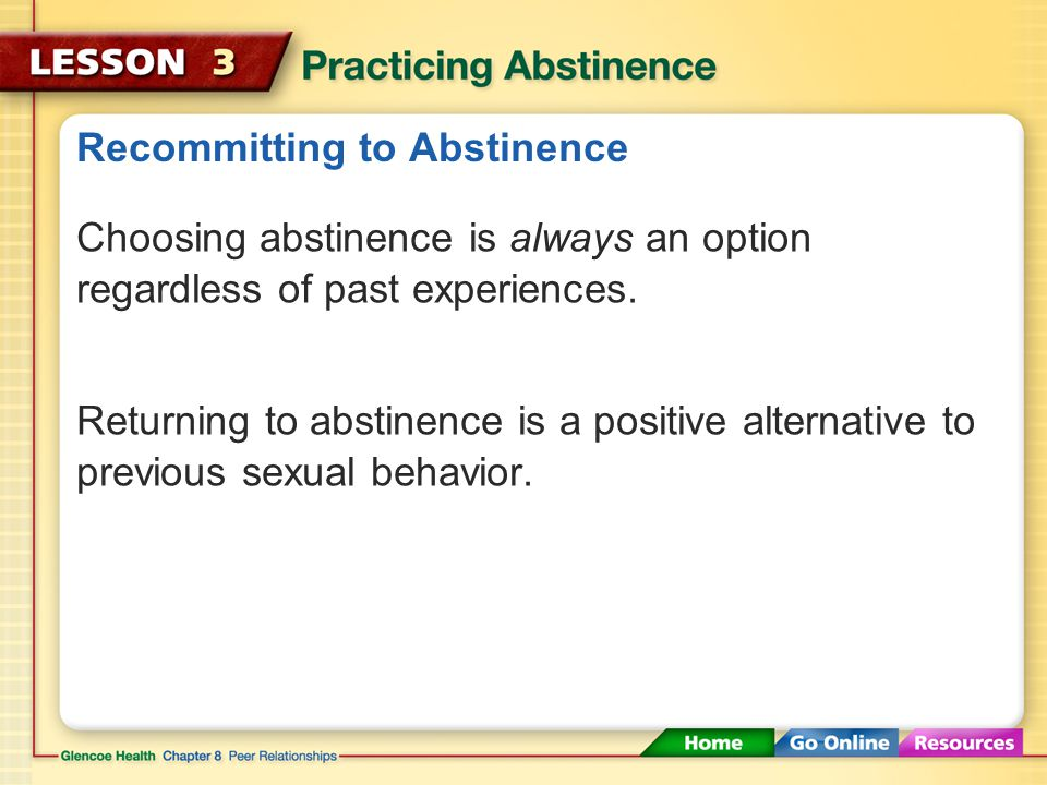 Recommitting to Abstinence