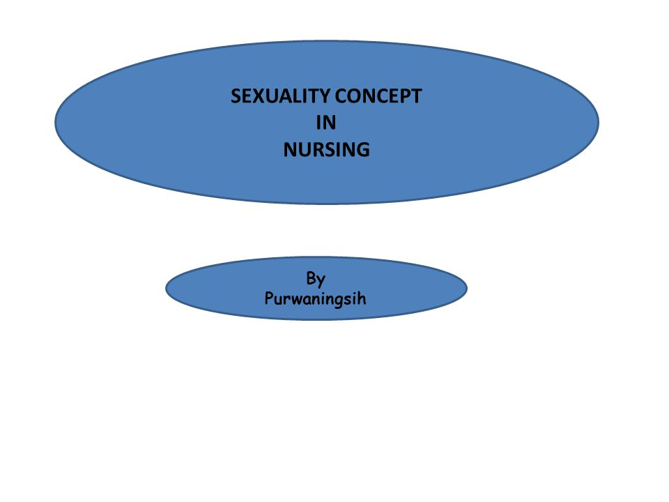 SEXUALITY CONCEPT IN NURSING