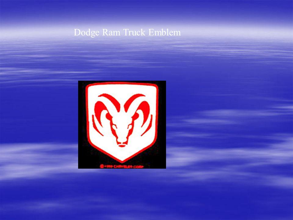 Dodge Ram Truck Emblem
