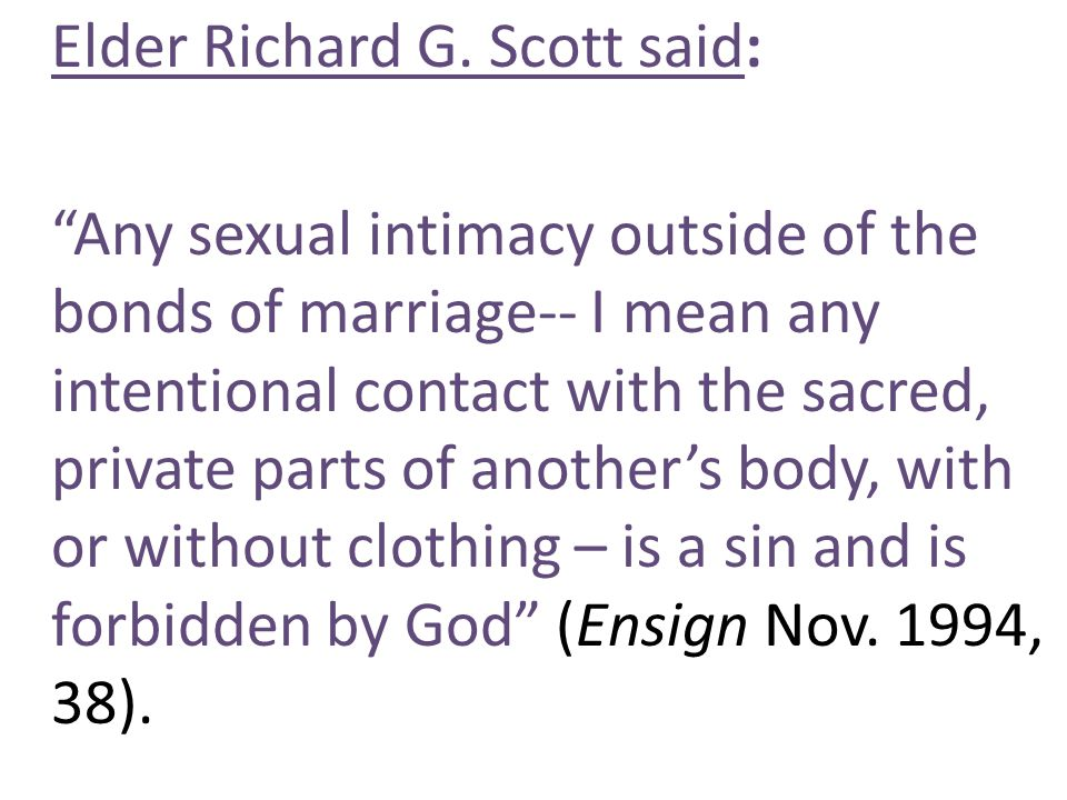 Elder Richard G.