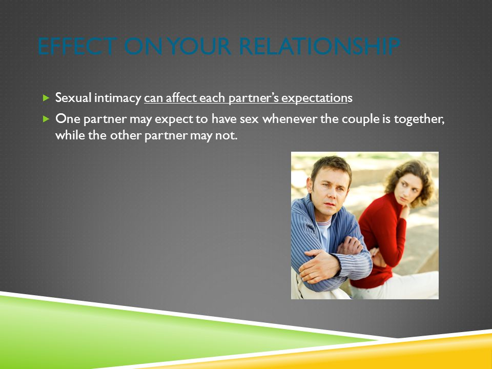 Effect on Your Relationship