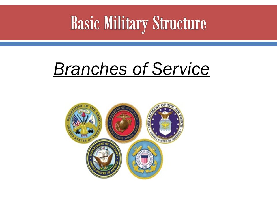 Basic Military Structure