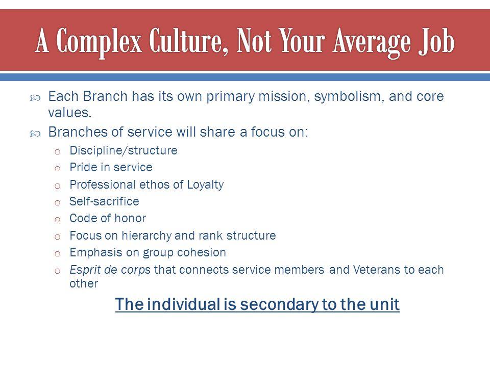 A Complex Culture, Not Your Average Job