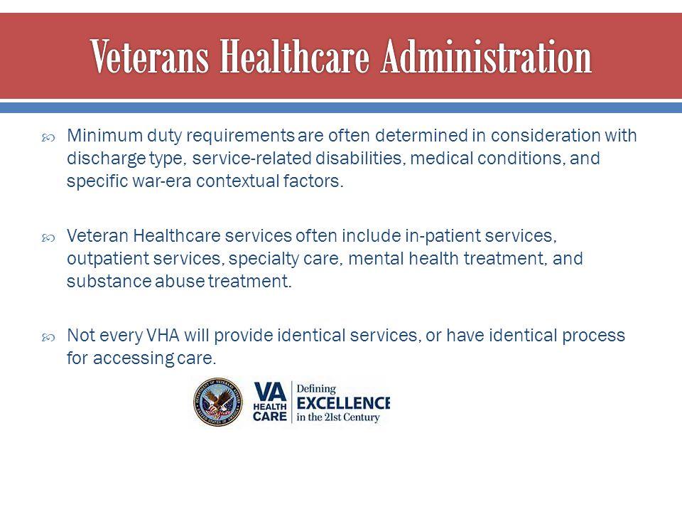 Veterans Healthcare Administration