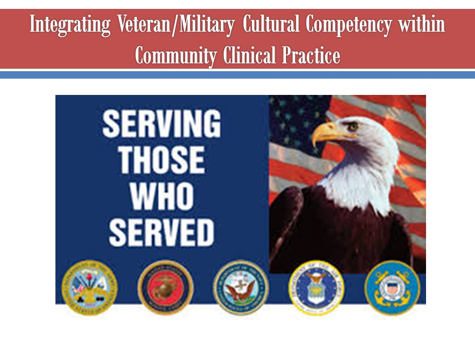 Integrating Veteran/Military Cultural Competency within Community Clinical Practice