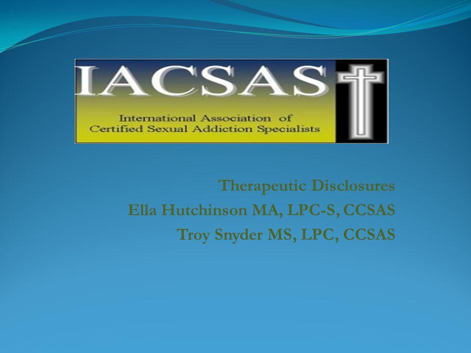 Therapeutic Disclosures