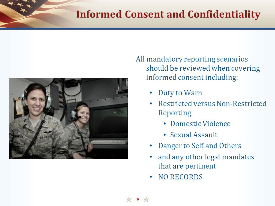 Informed Consent and Confidentiality