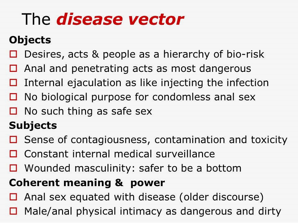 The disease vector Objects