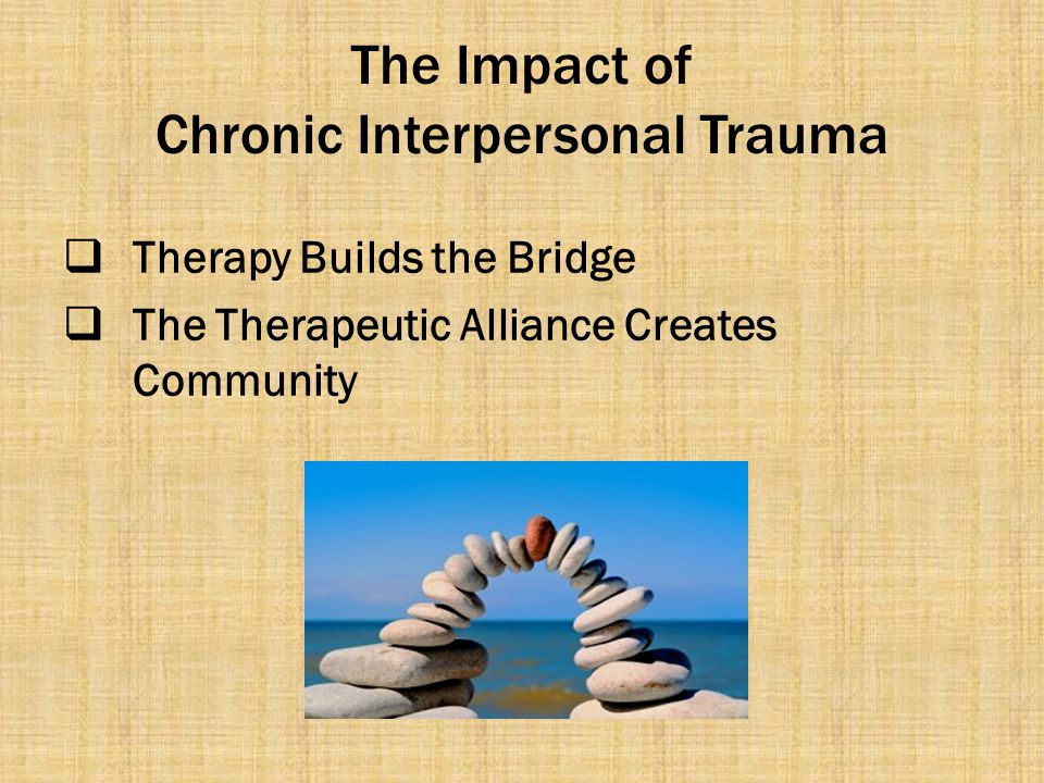 The Impact of Chronic Interpersonal Trauma