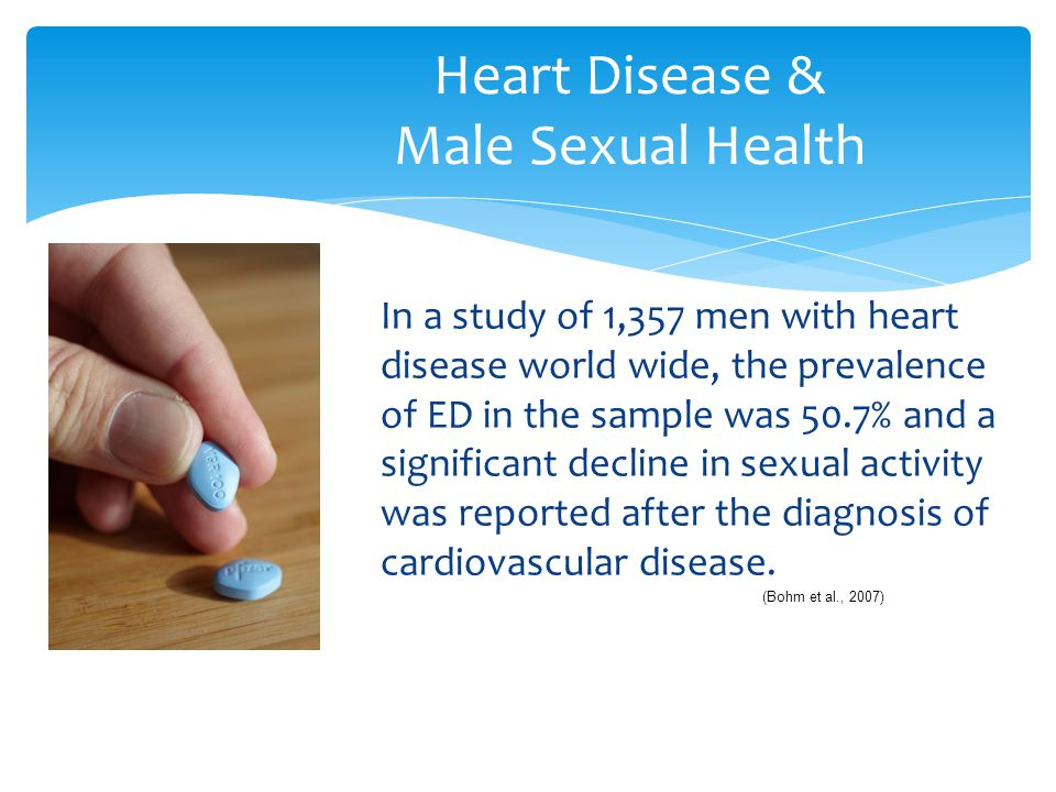 Heart Disease & Male Sexual Health