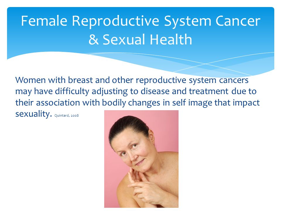 Female Reproductive System Cancer & Sexual Health