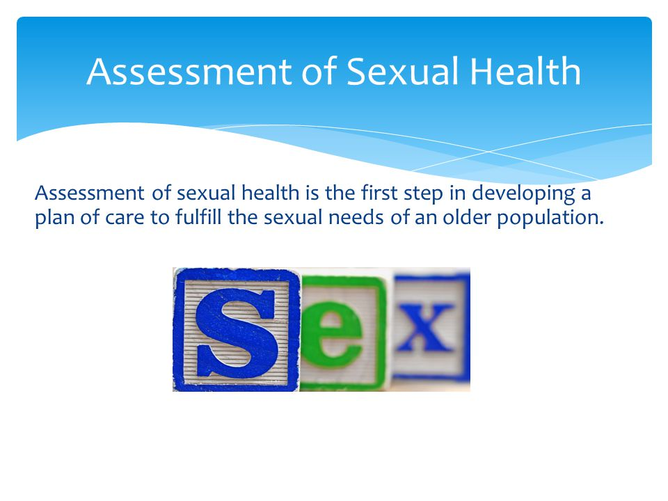 Assessment of Sexual Health