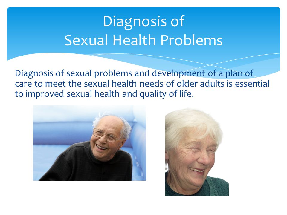 Diagnosis of Sexual Health Problems
