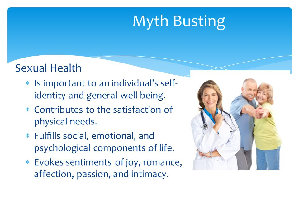 Myth Busting Sexual Health