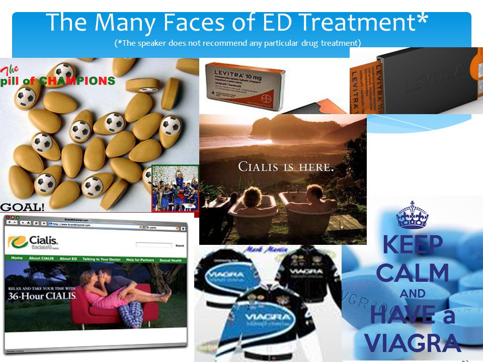 The Many Faces of ED Treatment. (