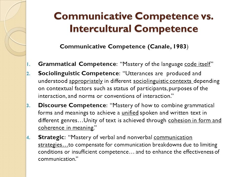 relationship of the dimensions intercultural communication competence