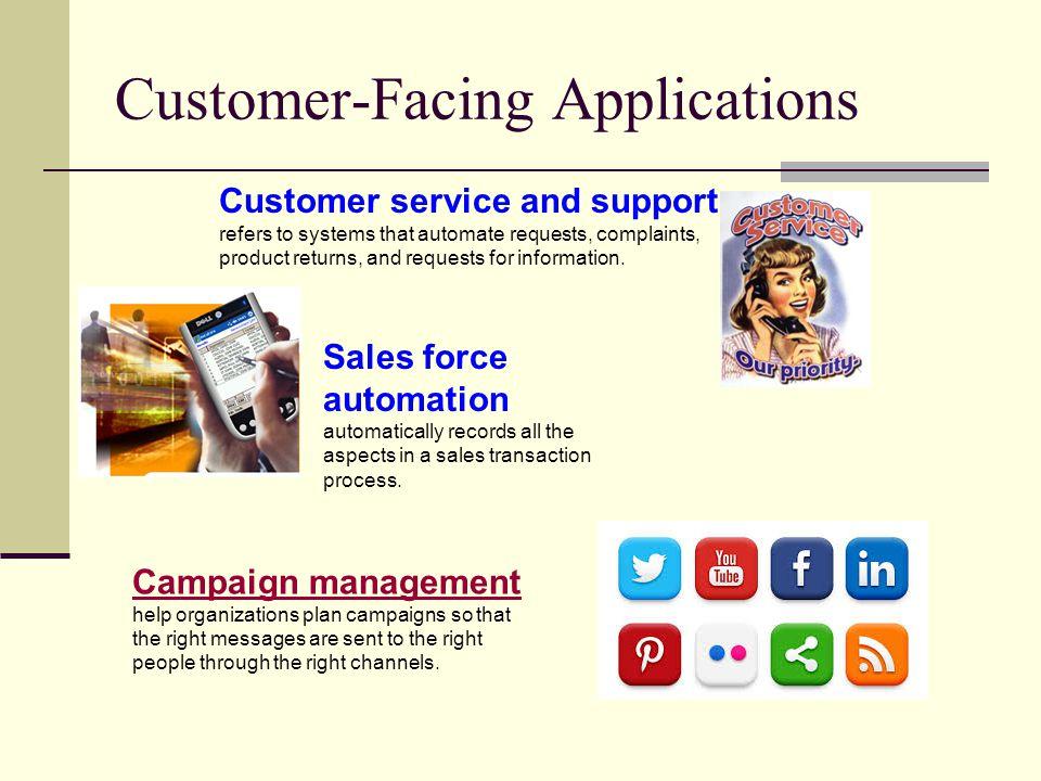 Customer-Facing Applications