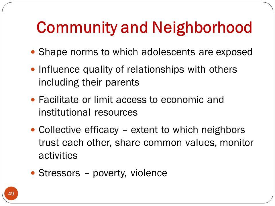 Community and Neighborhood