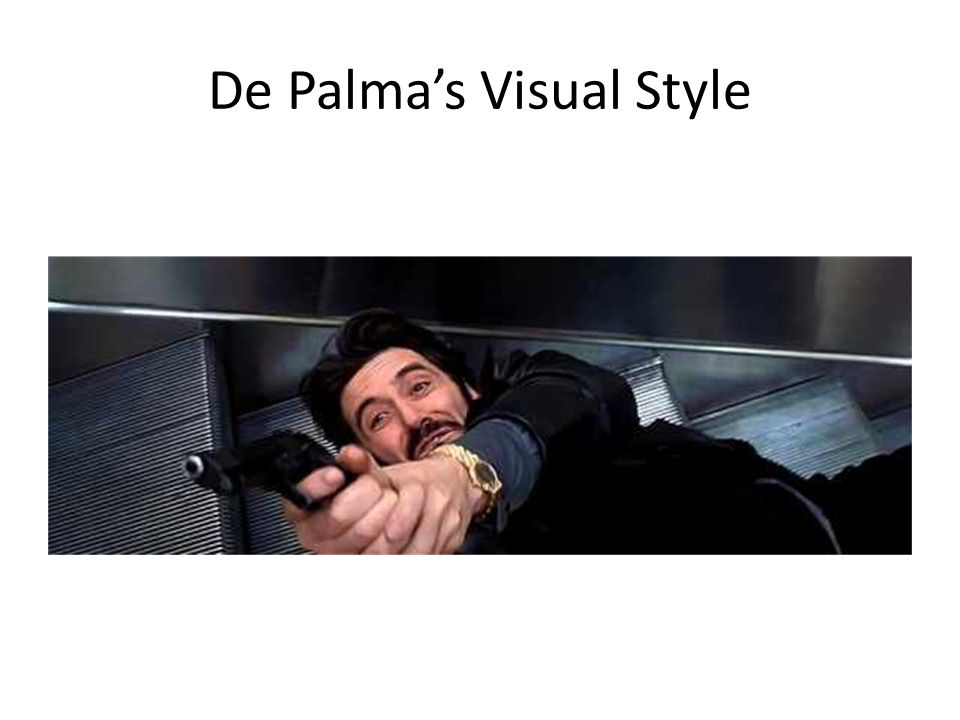 De Palma's Visual Style
