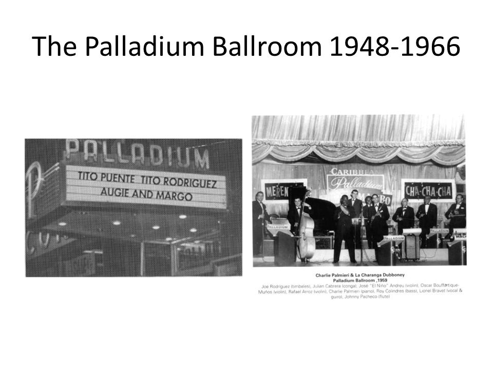 The Palladium Ballroom 1948-1966