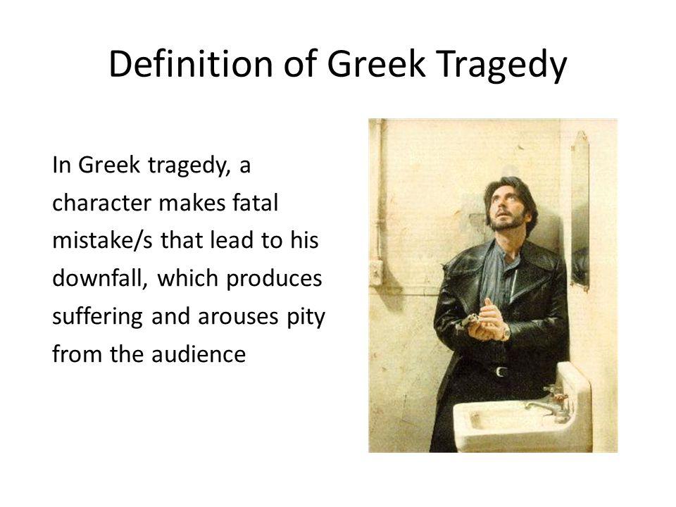 Definition of Greek Tragedy