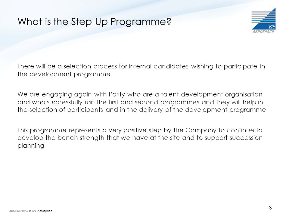 What is the Step Up Programme