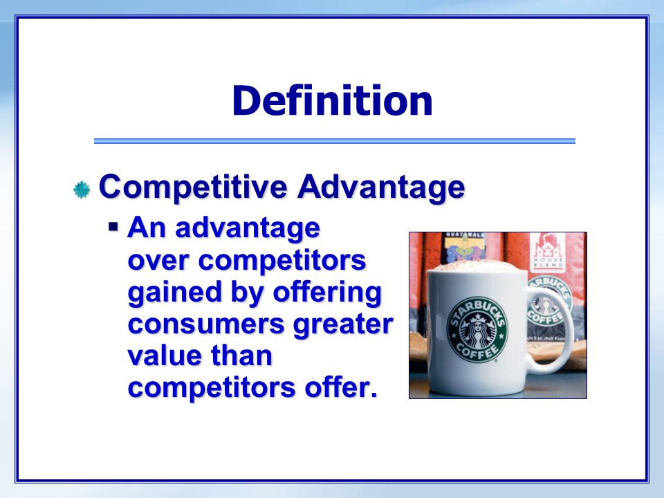 Definition Competitive Analysis