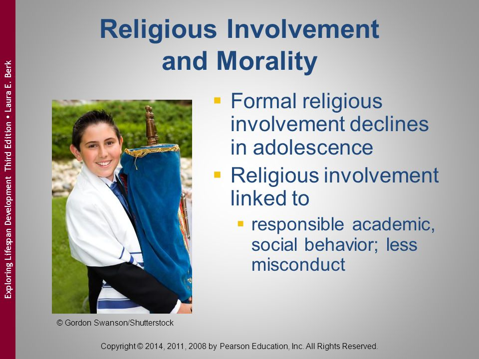 Religious Involvement and Morality