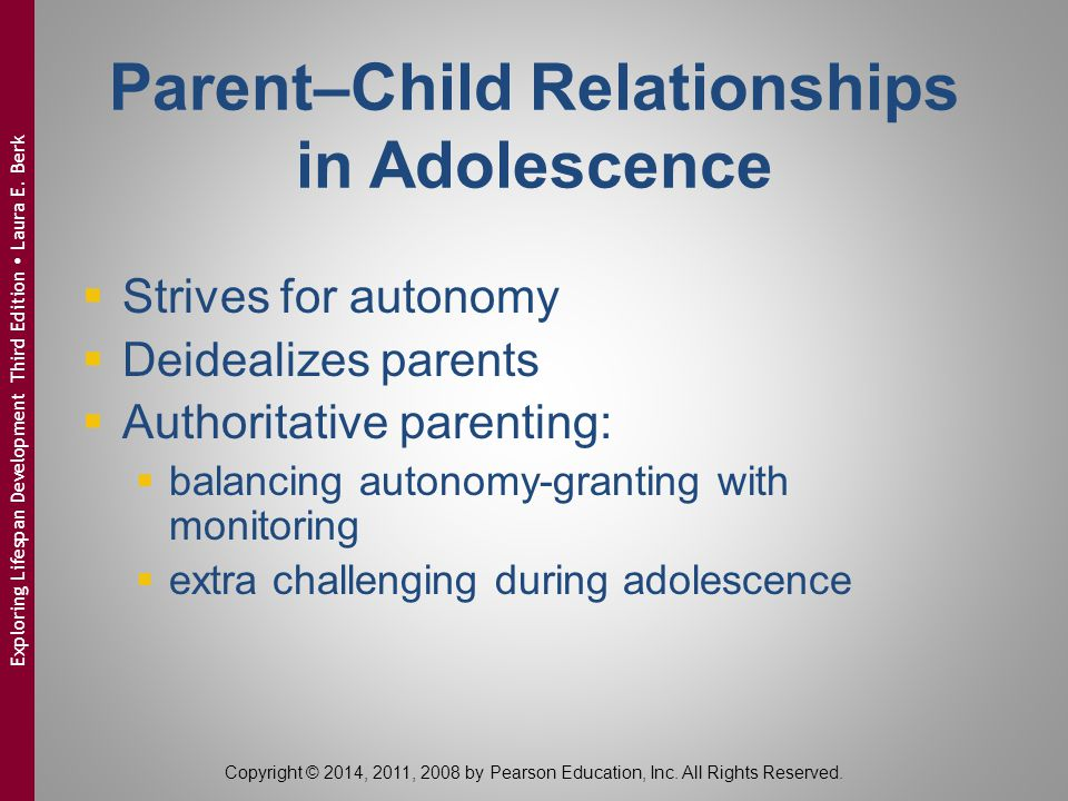 Parent–Child Relationships in Adolescence
