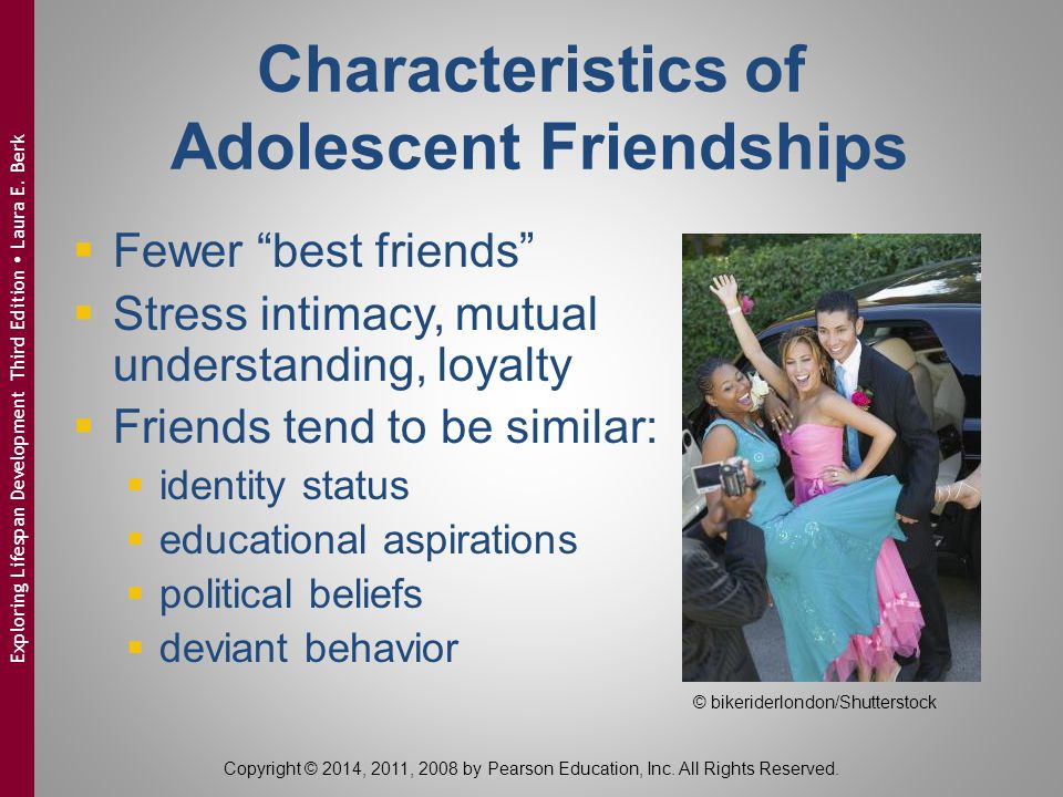 Characteristics of Adolescent Friendships