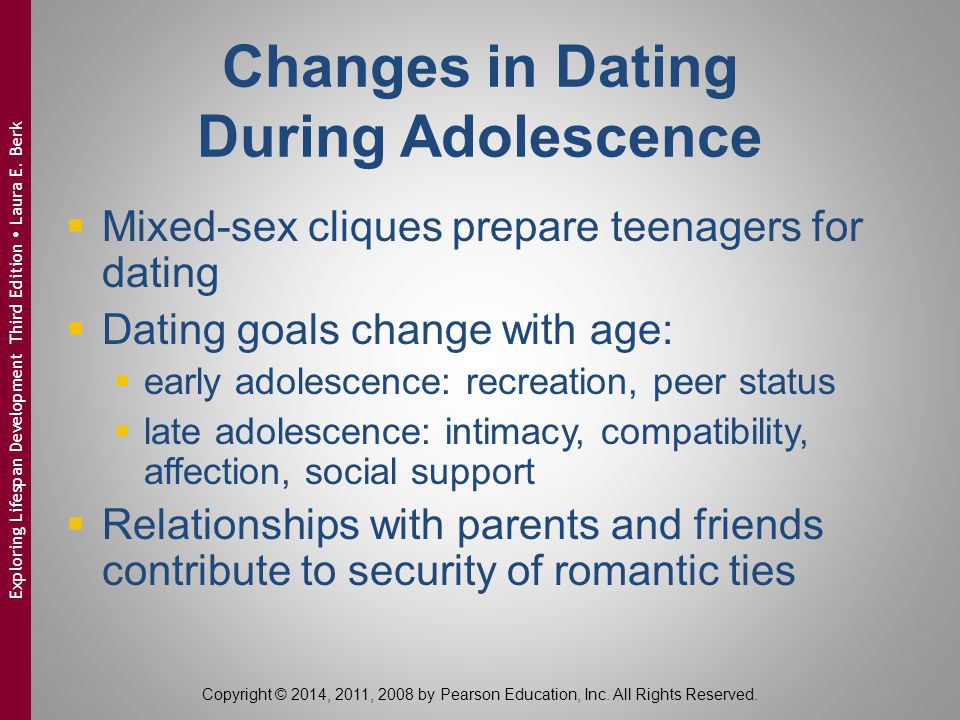 Changes in Dating During Adolescence