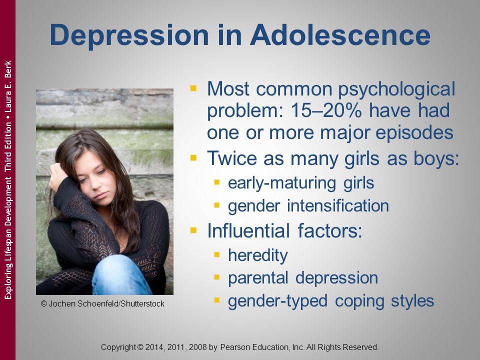 Depression in Adolescence