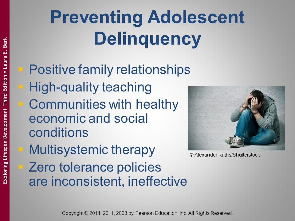 Preventing Adolescent Delinquency