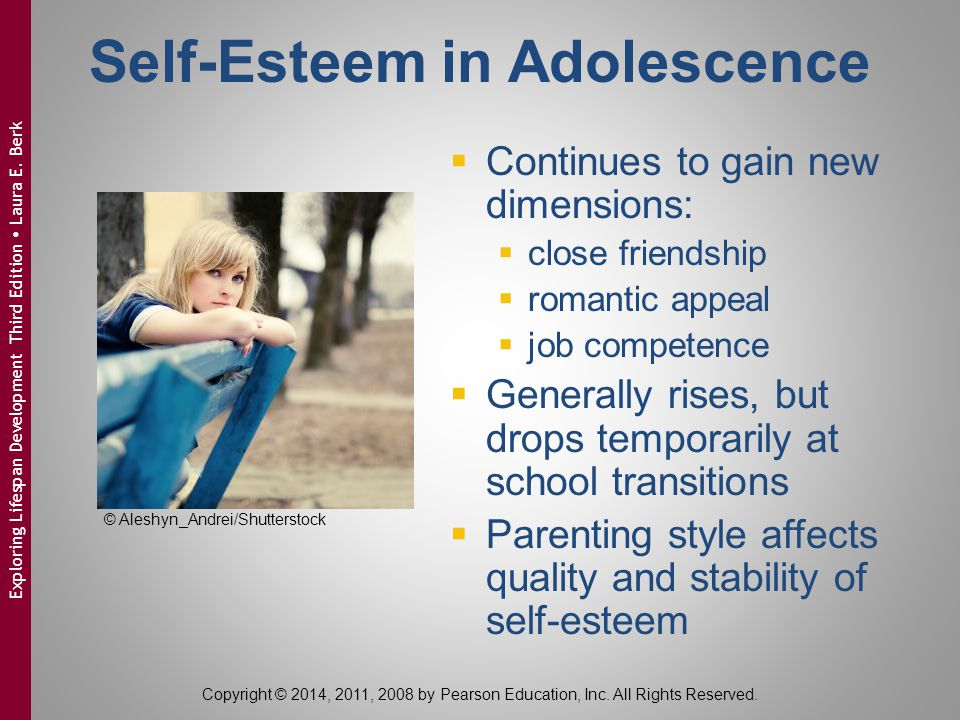 Self-Esteem in Adolescence