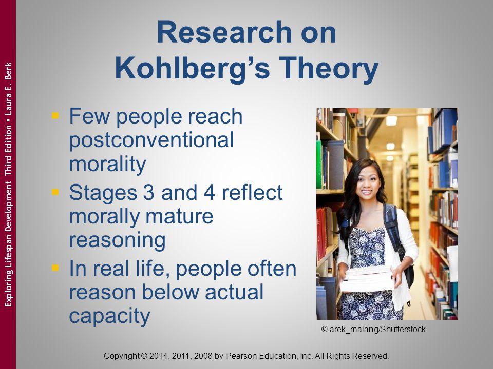 Research on Kohlberg's Theory