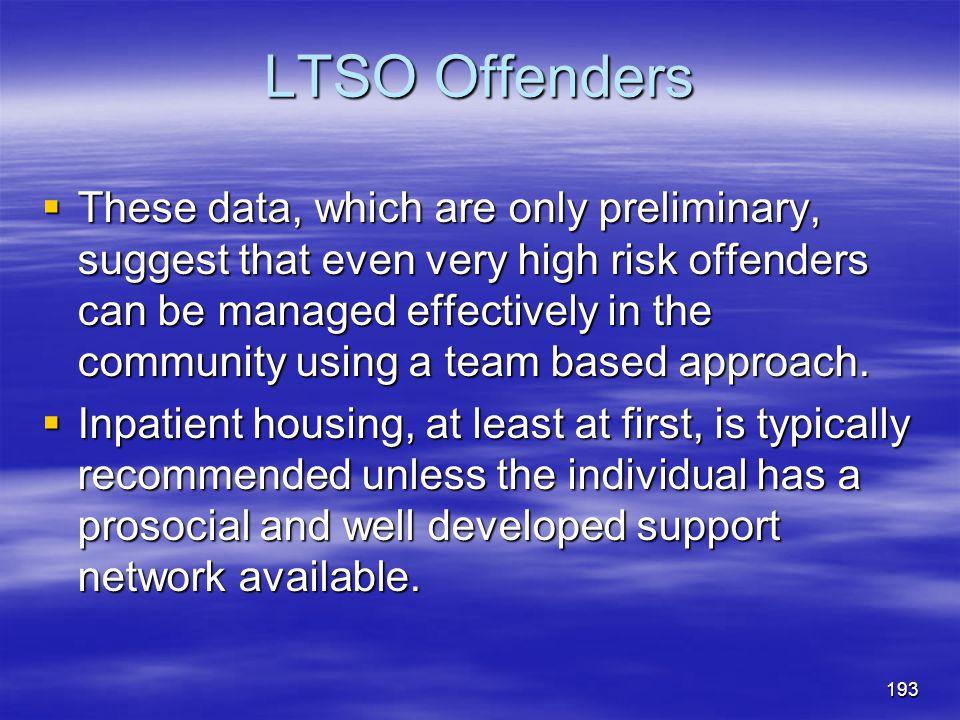 LTSO Offenders
