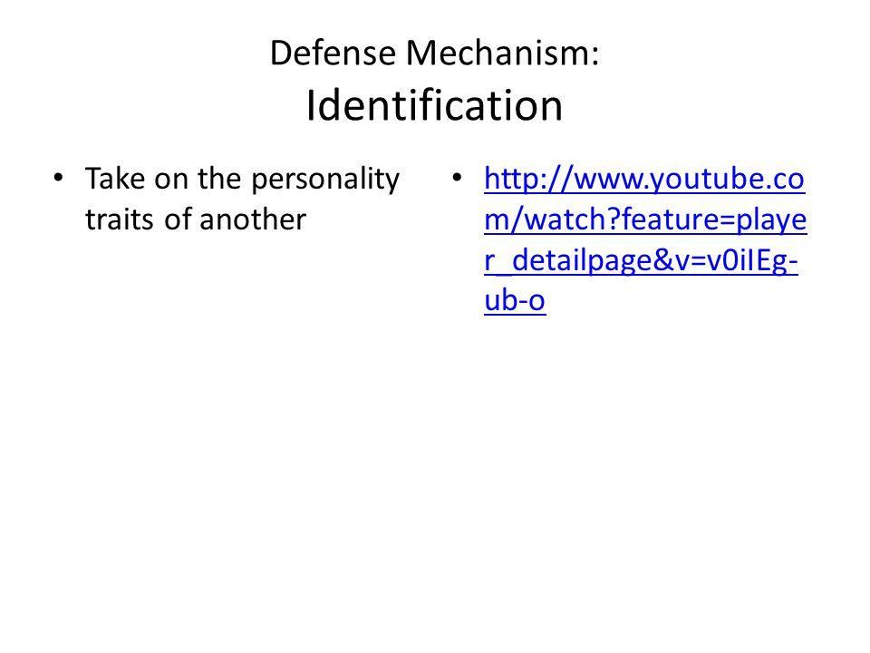 Defense Mechanism: Identification