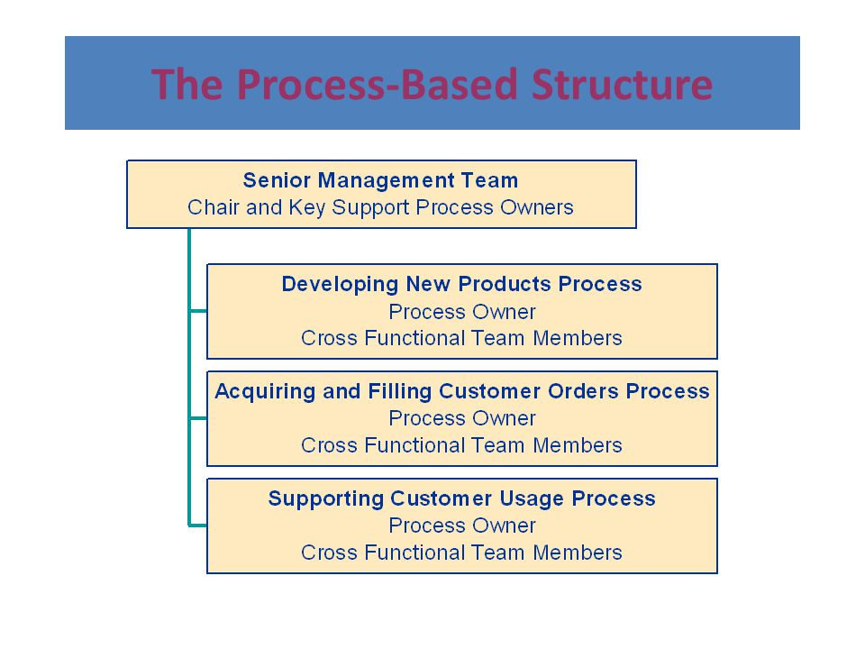 The Process-Based Structure