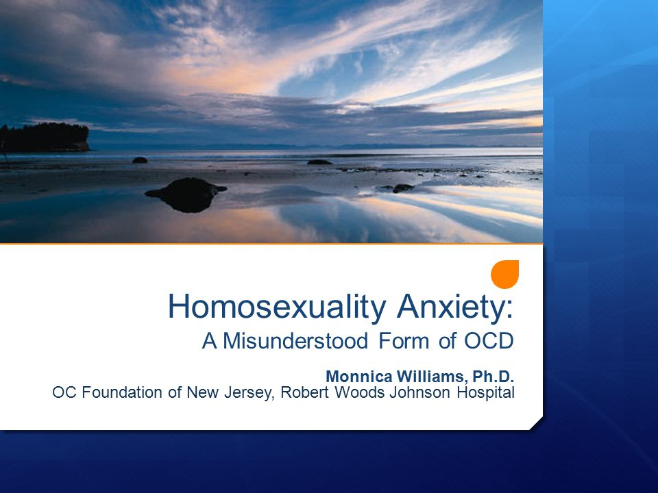 Homosexuality Anxiety: