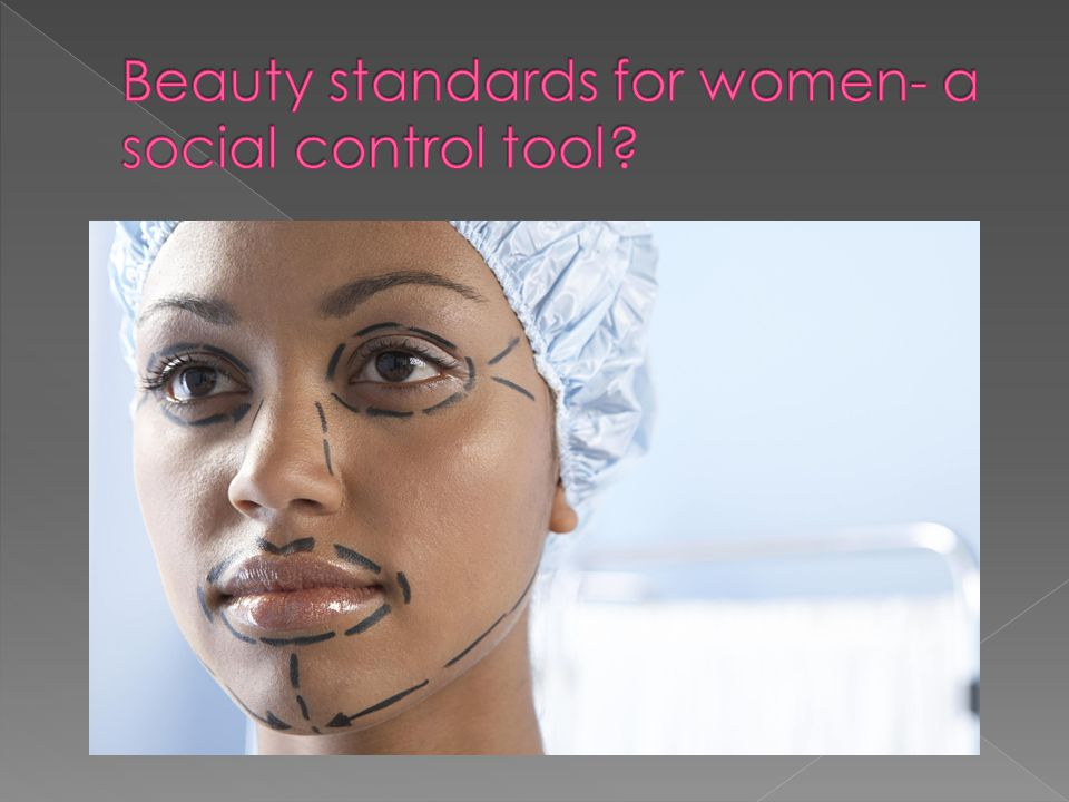 Beauty standards for women- a social control tool