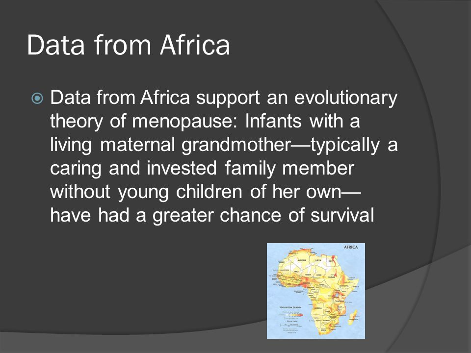 Data from Africa
