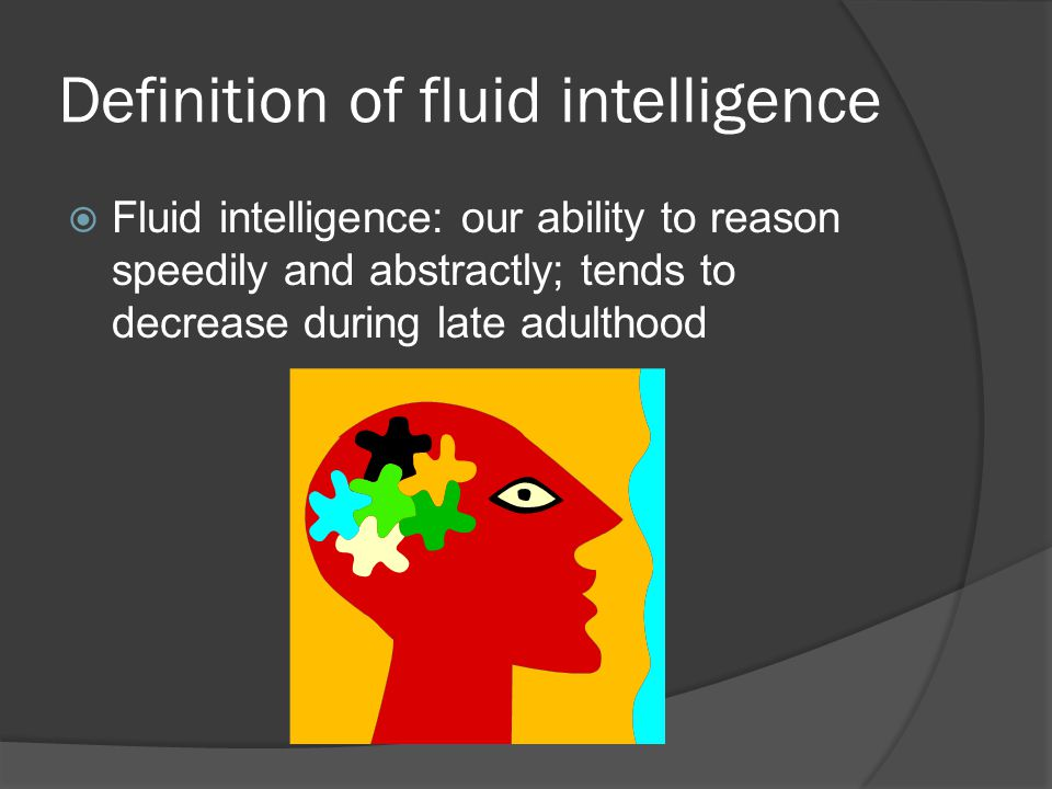 Definition of fluid intelligence