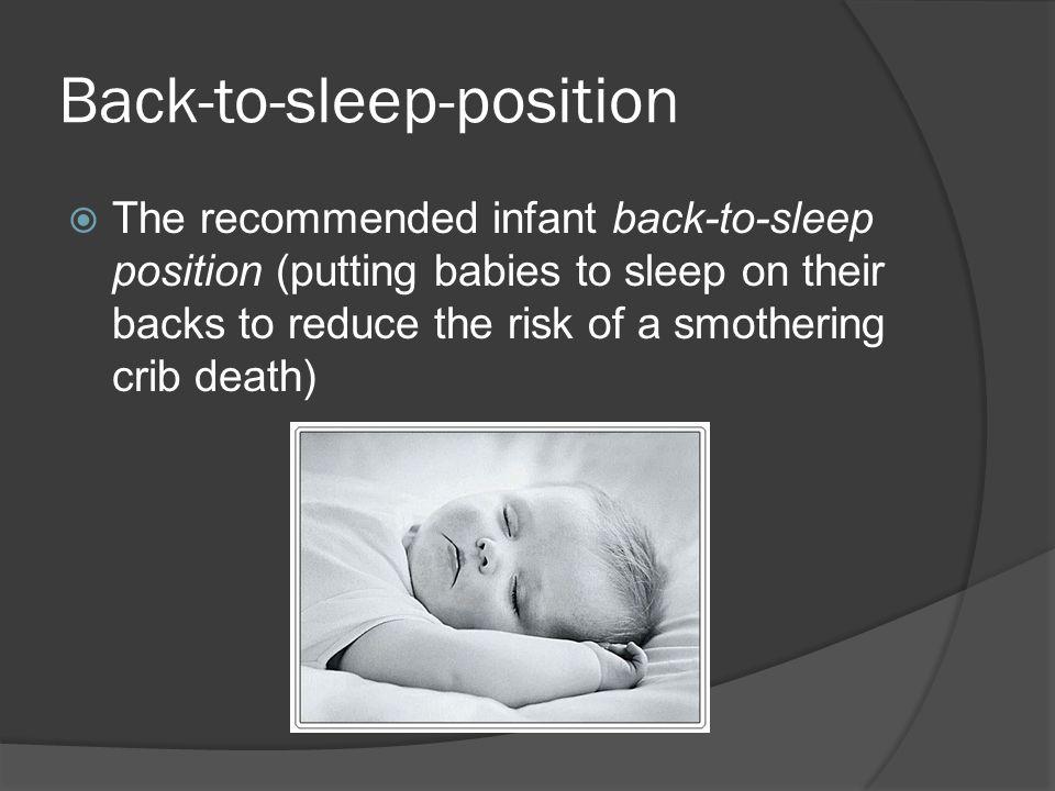 Back-to-sleep-position
