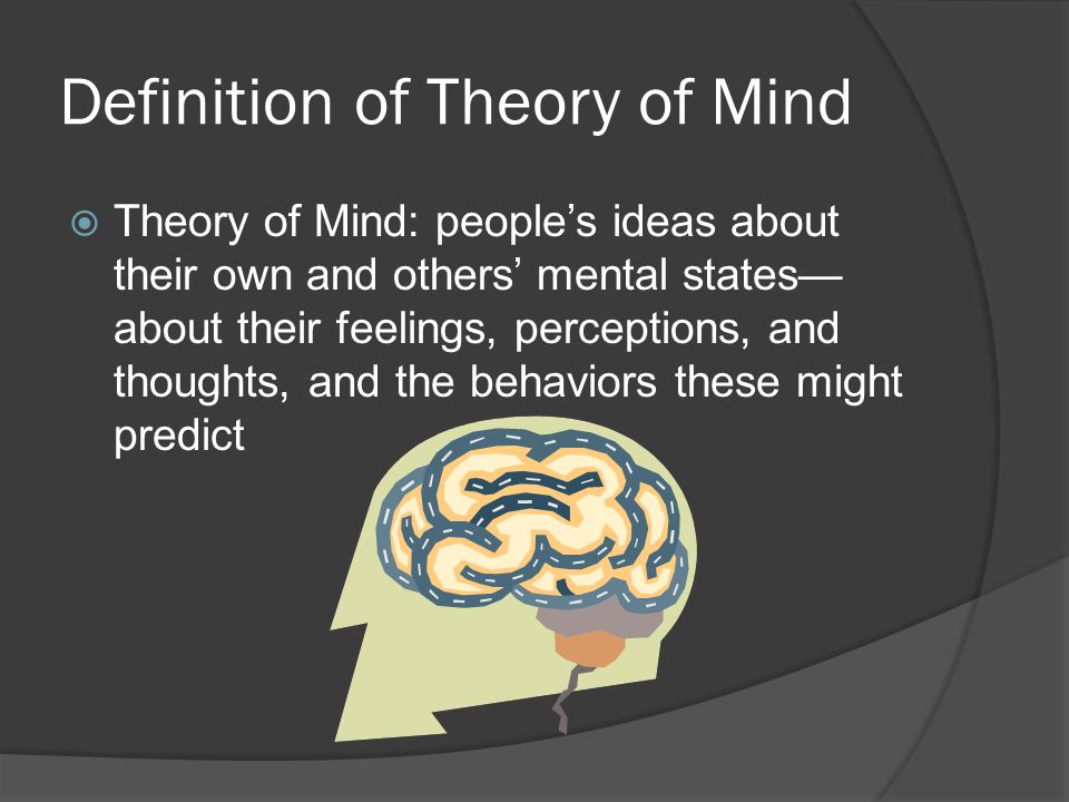 Definition of Theory of Mind