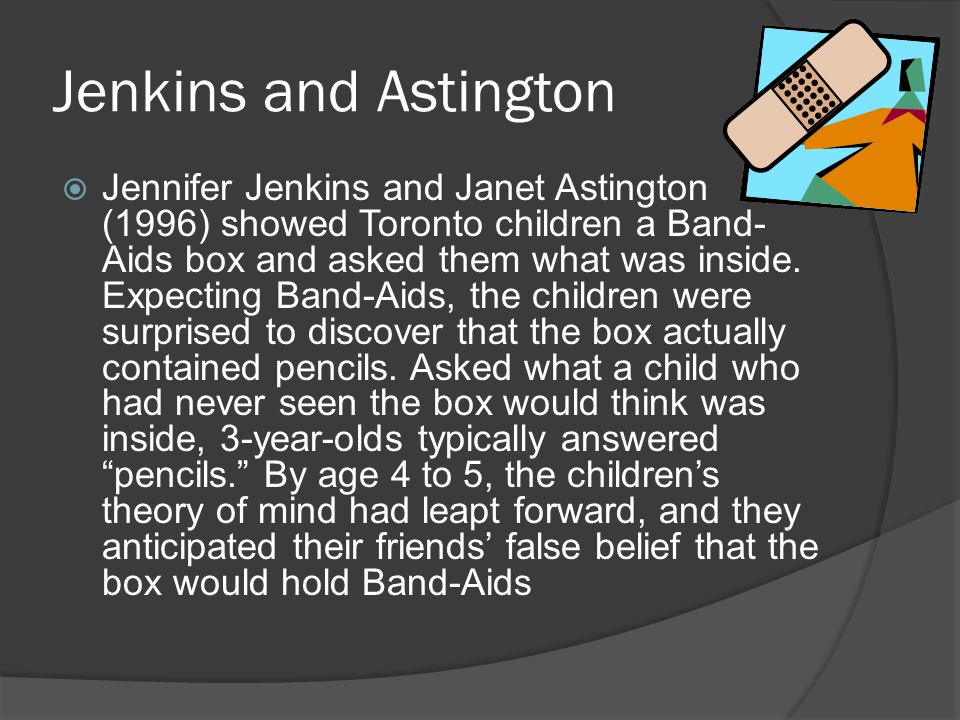 Jenkins and Astington