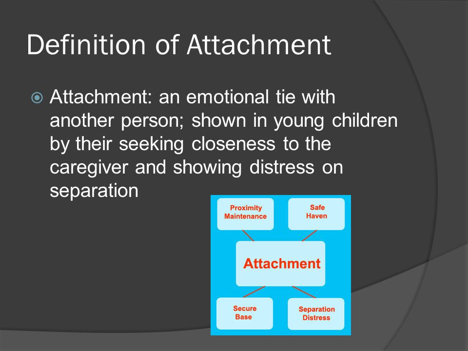 Definition of Attachment