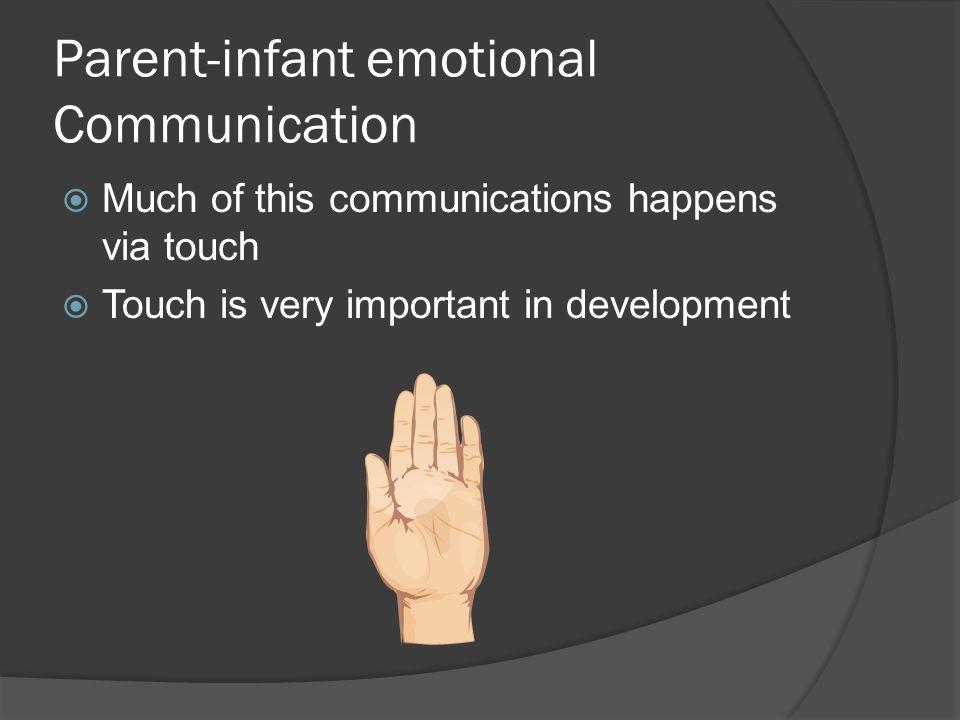 Parent-infant emotional Communication